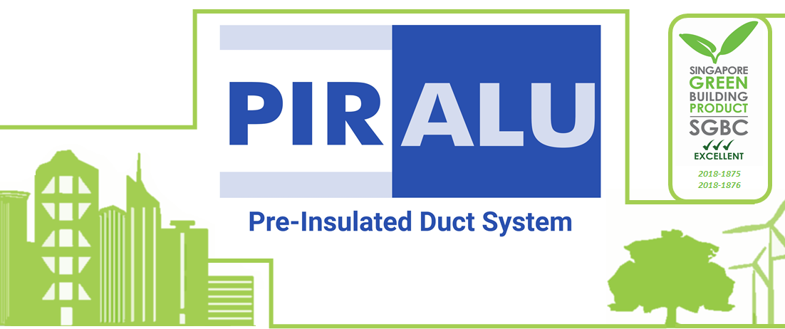 Green Label PIR Pre-Insulated Duct